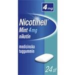 Nicotinell Mint medicinskt tuggummi 4 mg 24 st