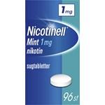 Nicotinell Mint komprimerad sugtablett 1 mg 96 st