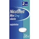 Nicotinell Mint komprimerad sugtablett 2 mg 36 st