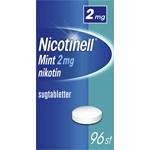Nicotinell Mint komprimerad sugtablett 2 mg 96 st