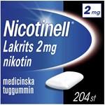 Nicotinell Lakrits medicinskt tuggummi 2 mg 204 st