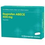 Ibuprofen ABECE filmdragerad tablett 400 mg 10 st