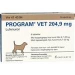 Program vet. filmdragerad tablett för hund 204,9 mg 6 st