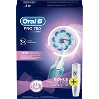Oral-B Pro 750S Eltandborste - Apotek Hjärtat 8e13c6019224e