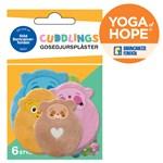 Cuddlings Gosedjursplåster Yoga of Hope 6 st