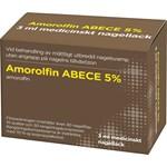Amorolfin ABECE Medicinskt nagellack 5% 3 ml