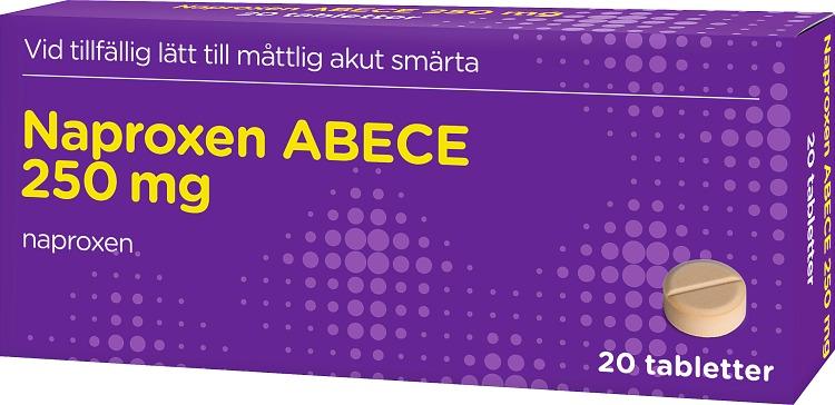Naproxen 250 mg dosering