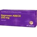 Naproxen ABECE tablett 250 mg 20 st