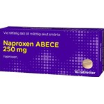 Naproxen ABECE tablett 250 mg 10 st