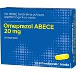 Omeprazol ABECE Enterokapsel hård 20 mg 14 st blister