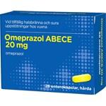 Omeprazol ABECE Enterokapsel hård 20 mg 28 st blister