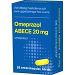 Omeprazol ABECE Enterokapsel hård 20 mg 28 st burk