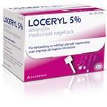 Loceryl® Medicinskt nagellack 5% Glasflaska (spatel i locket), 3ml (med tillbehör)