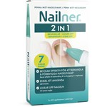 Nailner Pensel 2-i-1 4 ml