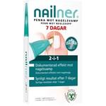 Nailner Pensel 2-i-1 4 ml