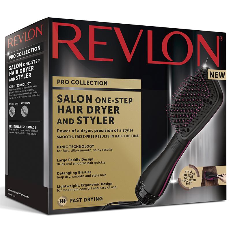 Revlon Pro Collection Salon One Step Hair Dryer   Styler - Apotek Hjärtat a1b1f003e67a4