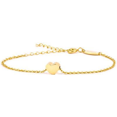 Blomdahl Armband Gold Heart
