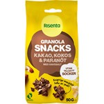 Risenta Granola Snacks Kakao Kokos Paranöt 50g