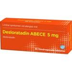 Desloratadin ABECE filmdragerad tablett 5 mg 30 st
