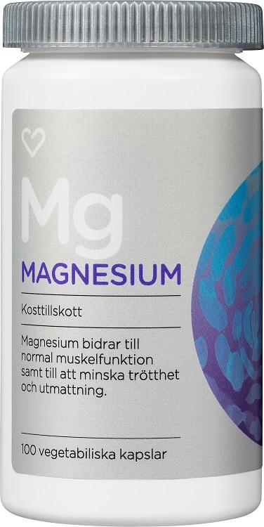 magnesium och zink tillskott