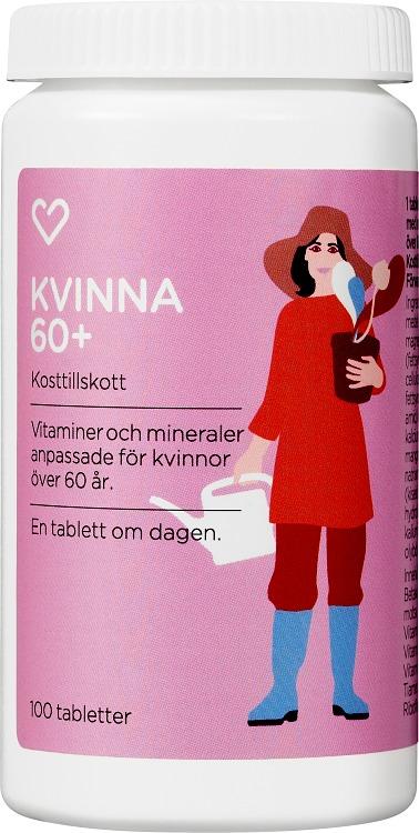 vitaminer för kvinnor