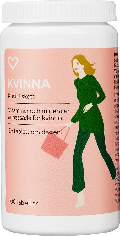vitamineral kvinna