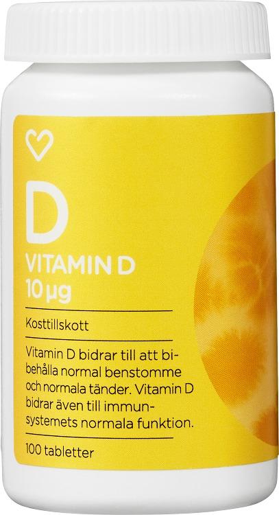 vitamin d forte kosttillskott