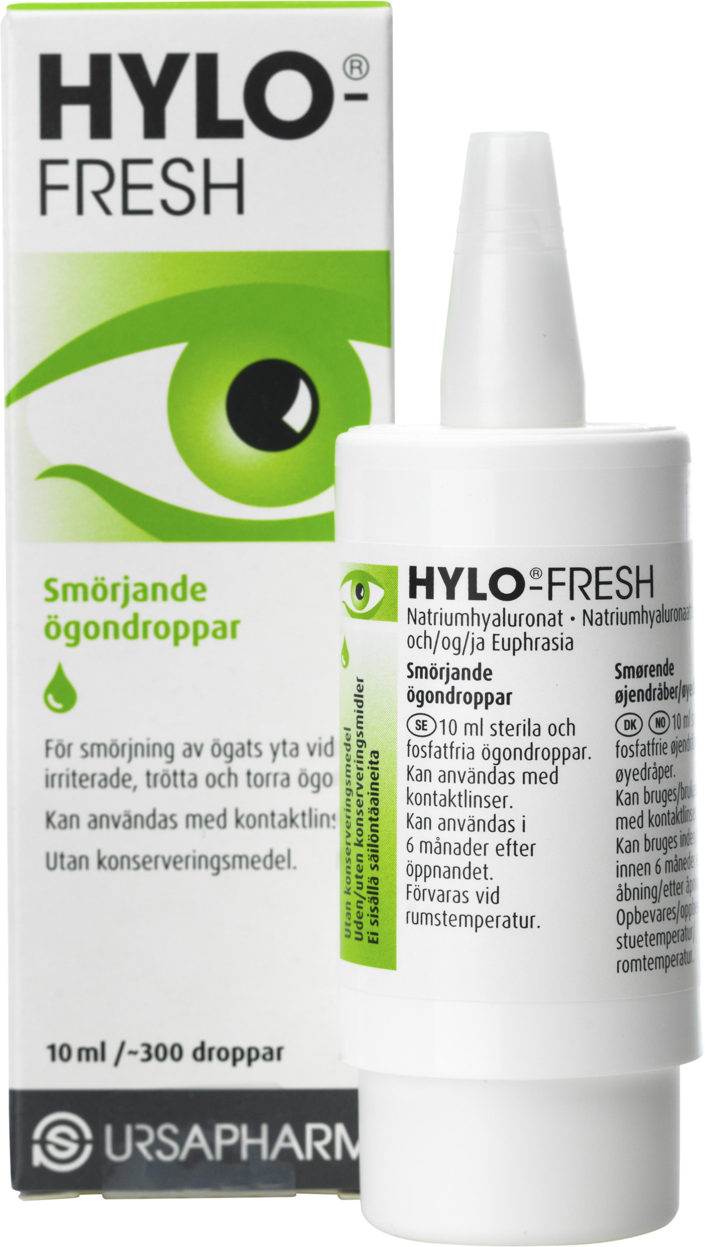 ögondroppar med antihistamin