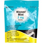 Nicovel Mint Munhålepulver i portionspåse 2 mg Burk, 20 portionspåsar (i aluminiumpåse)