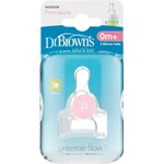 Dr Brown's Options Dinapp Smal Hals Prematur, 0 mån+ 2-pack
