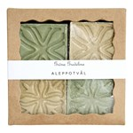 Gröna Gredelina Aleppotvål 4-pack Mini