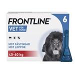 Frontline Vet. Spot-on lösning hund 40-60 kg 100 mg/ml 6 x 4,02 ml