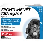 Frontline Vet. Spot-on lösning hund 40-60 kg 100 mg/ml 6 x 4,02 ml