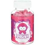 Monkids D-vitamin Kalcium Jordgubbstuggisar 60 st
