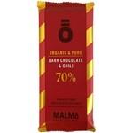 Malmö Chokladfabrik Dark Chocolate & Chili 70% kakao 55 g