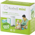 Korbell MINI Refill till blöjhink 9 liter 3-pack