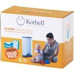 Korbell Refill till blöjhink 16 liter 3-pack