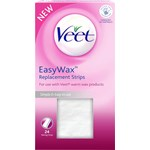 Veet Easy Wax Replacement Strips 24 st