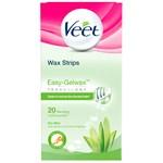 Wax Strips Easy-Gelwax Technology Dry Skin Legs & Body 20 st