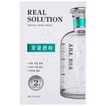 Missha Real Solution Tencel Pore Control Sheet Mask 25 g