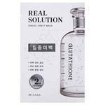 Missha Real Solution Tencel Pure Whitening Sheet Mask 25g
