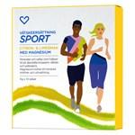 Hjärtats Vätskeersättning Sport med Magnesium 10 påsar