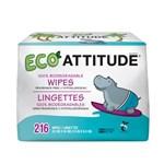 Attitude Våtservett Bebis Refill 3-pack á 72 st