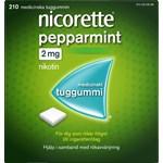Nicorette Pepparmint medicinskt tuggummi 2 mg 210 st