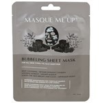 Masque Me Up Bubbeling Sheet Mask Black 23 ml