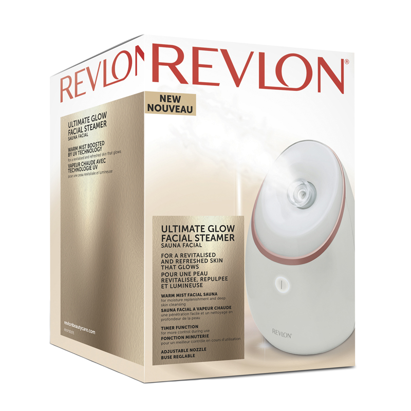 Revlon Ultimate Glow Facial Steamer - Apotek Hjärtat 61a7357a06660