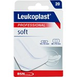 Leukoplast Soft 19x72 mm 12 st 38x72 mm 8 st