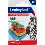 Leukoplast Kids 12 st olika storlekar