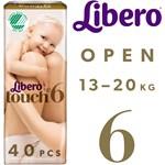 Libero Touch 6 (13-20 kg) 40 st