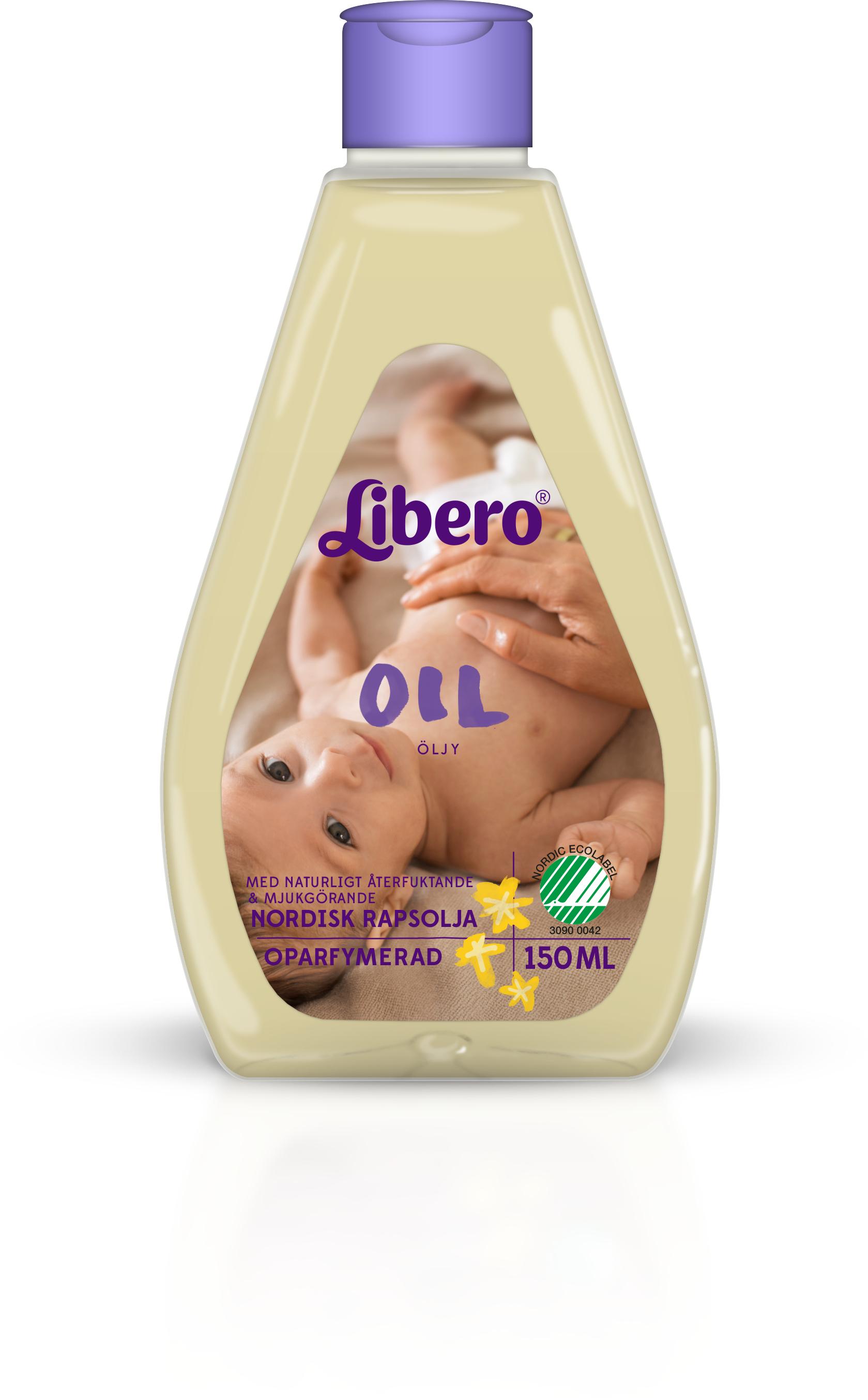 använda babyolja i underlivet